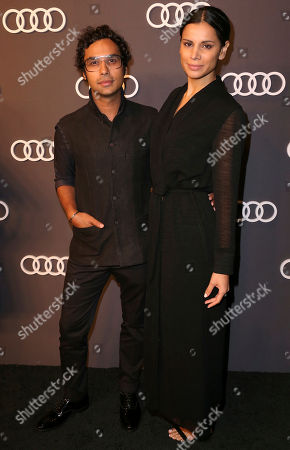 Kunal Nayyar, Neha Kapur. Kunal Nayyar, left, and Neha Kapur arrive at the 69th Primetime Emmy Awards Audi pre party at The Highlight Room, in Los Angeles