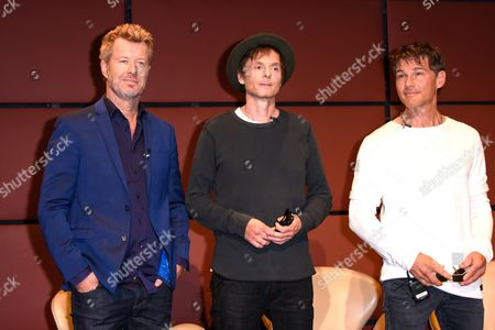 Editorial photo of A-ha photocall, Berlin, Germany - 12 Sep 2017