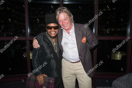 Best Reggae Singer winner Maxi Priest and Ranald MacDonald