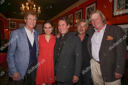 Paul Jones, Ladyva,Jools Holland, Glen Matlock and Ranald MacDonald