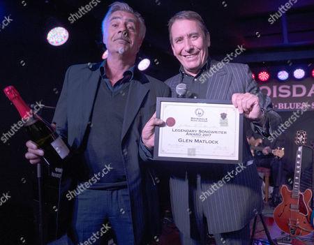 Glen Matlock and Jools Holland