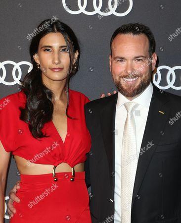 Dana Brunetti and guest