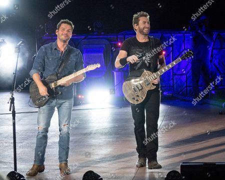Nickelback - Ryan Peake and Chad Kroeger