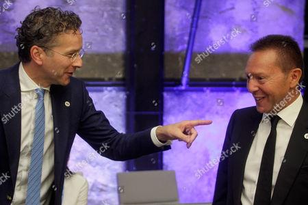 Yannis Stournaras and Jeroen Dijsselbloem