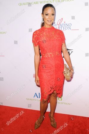 "Eva La Rue attends the ""Power Up, We Are The Future"" Gala held at the Beverly Wilshire Hotel, in Beverly Hills, Calif"
