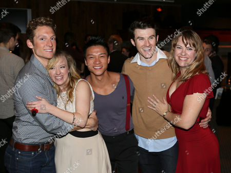 """Editorial picture of """"Seven Brides for Seven Brothers"""" opening, La Mirada, USA"""