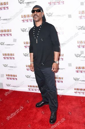 """Eddie Murphy attends """"SUBCONSCIOUS"""" by Bria Murphy Gallery Opening at Lace Gallery, in Los Angeles"""