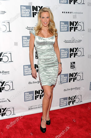 """Heidi Albertsen attends the 51st annual New York Film Festival closing night screening of """"Her"""" at Alice Tully Hall on in New York"""