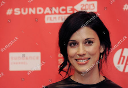 """Stock Image of Cherien Dabis, writer, director and star of """"May in the Summer,"""" poses at the premiere of the film on the opening night of the 2013 Sundance Film Festival, in Park City, Utah"""