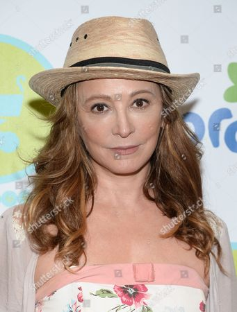 Wendy Makkena attends the Baby Buggy Bedtime Bash at Wollman Rink in Central Park, in New York