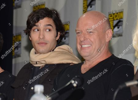 "Stock Image of Alexander Koch, left, and Dean Norris attend the ""Under the Dome"" panel on Day 1 of Comic-Con International, in San Diego"