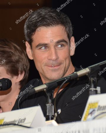 "Eddie Cahill attends the ""Under the Dome"" panel on Day 1 of Comic-Con International, in San Diego"