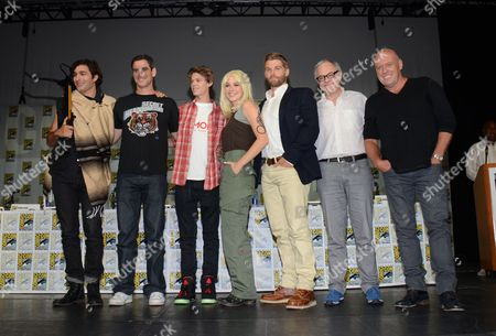 "Editorial photo of 2014 Comic-Con - ""Under The Dome"" Panel, San Diego, USA"