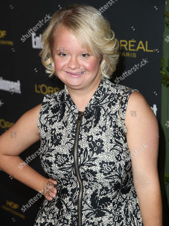 Lauren Potter arrives at Entertainment Weekly's Pre-Emmy Party sponsored by L'Oreal Paris and Hearts On Fire at Fig & Olive in West Hollywood, Calif. on