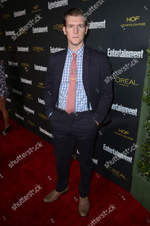 Stock Image of Cliff Chamberlain arrives at Entertainment Weekly's Pre-Emmy Party sponsored by L'Oreal Paris and Hearts On Fire at Fig & Olive in West Hollywood, Calif. on