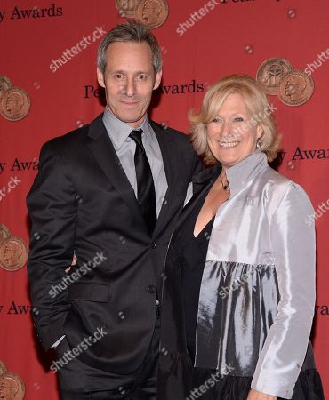 Jayne Atkinson and Michael Gill attend the 73rd Annual George Foster Peabody Awards at the Waldorf-Astoria Hotel, in New York