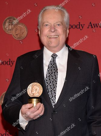 Stock Picture of Robert Osborne attends the 73rd Annual George Foster Peabody Awards at the Waldorf-Astoria Hotel, in New York