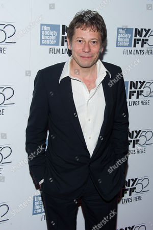 """Stock Image of Matthieu Almaric attends """"The Blue Room"""" screening during the 52nd New York Film Festival at Alice Tully Hall, in New York"""