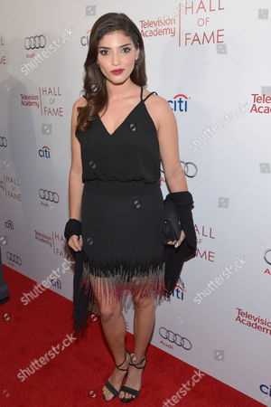 Amanda Setton arrives at the 2014 Television Academy Hall of Fame, at the Beverly Wilshire in Beverly Hills, Calif