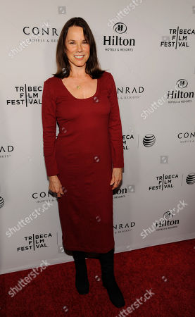 Actress Barbara Hershey poses at the 2014 Tribeca Film Festival LA Reception at The Beverly Hilton on in Beverly Hills, Calif