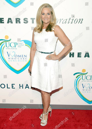 Television journalist Alex Witt attends the 2014 Women Who Care Benefit, in New York