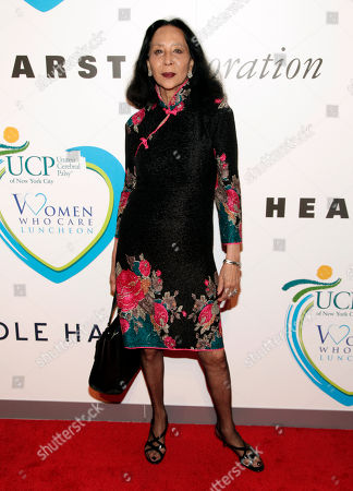 Stock Picture of Fashion editor China Machado attends the 2014 Women Who Care Benefit, in New York