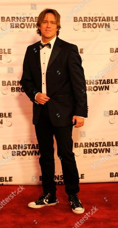 Larry Birkhead arrives at the 2015 Barnstable Brown Gala at Patricia Barnstable Brown's Mansion, in Louisville, Ky