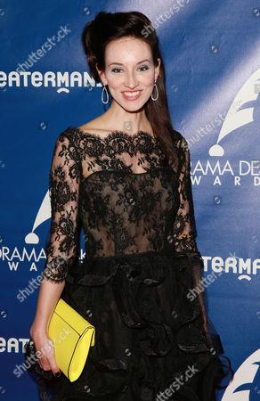 Elizabeth A. Davis attends the 60th Annual Drama Desk Awards at Anita's Way, in New York