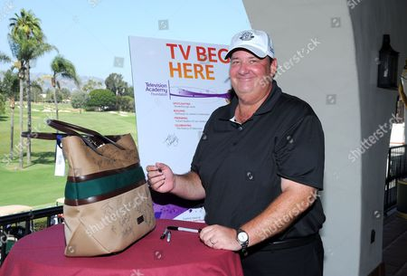 Brian Baumgartner is seen at the 16th Emmys Golf Classic presented by the Television Academy Foundation at the Wilshire Country Club on in Los Angeles