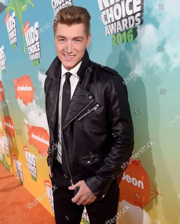 Stock Picture of Alexey Vorobyov arrives at the Kids' Choice Awards at The Forum, in Inglewood, Calif
