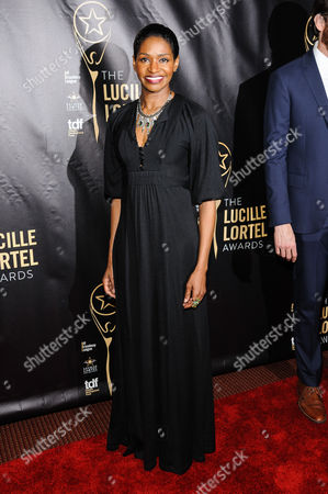 Jenny Jules attends The 2016 Lucille Lortel Awards for Outstanding Achievement Off-Broadway at the NYU Skirball Center, in New York