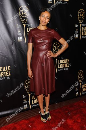 Eisa Davis attends The 2016 Lucille Lortel Awards for Outstanding Achievement Off-Broadway at the NYU Skirball Center, in New York