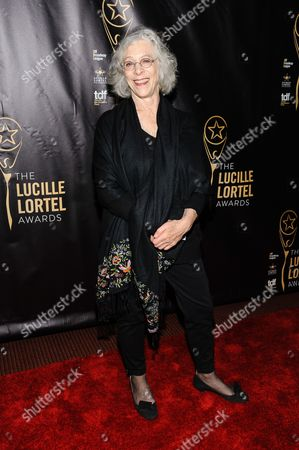Stock Image of Martha Clarke attends The 2016 Lucille Lortel Awards for Outstanding Achievement Off-Broadway at the NYU Skirball Center, in New York