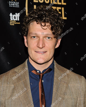 Gabriel Ebert attends The 2016 Lucille Lortel Awards for Outstanding Achievement Off-Broadway at the NYU Skirball Center, in New York