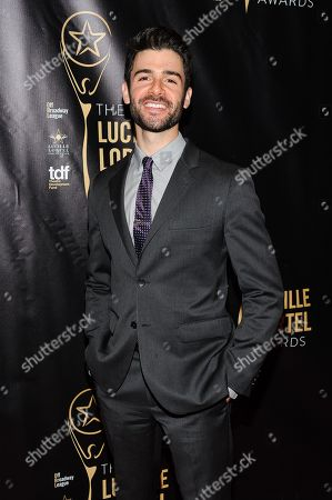 Adam Kantor attends The 2016 Lucille Lortel Awards for Outstanding Achievement Off-Broadway at the NYU Skirball Center, in New York