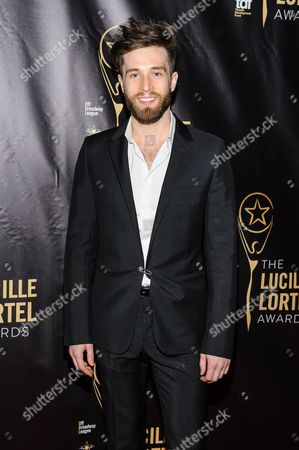 Paul McGill attends The 2016 Lucille Lortel Awards for Outstanding Achievement Off-Broadway at the NYU Skirball Center, in New York
