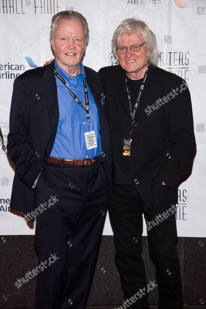 Inductee Chip Taylor, right, and his brother actor Jon Voight attend the 47th Annual Songwriters Hall of Fame Induction Ceremony and Awards Gala at the Marriott Marquis Hotel, in New York
