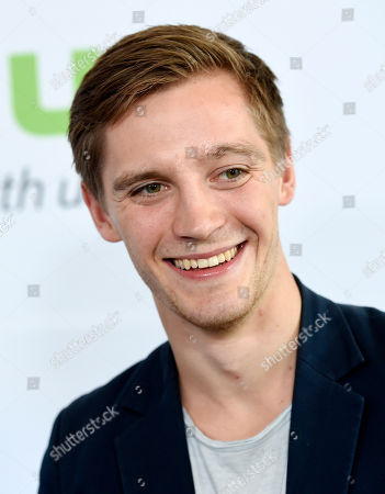 "Jonas Nay, star of ""Deutschland 83,"" poses before the Hulu network's panels during the Television Critics Association 2016 Summer Press Tour at the Beverly Hilton, in Beverly Hills, Calif"