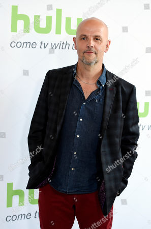 """Stock Image of Peter Carlton, executive producer of """"The Last Panthers,"""" poses before the Hulu network's panels during the Television Critics Association 2016 Summer Press Tour at the Beverly Hilton, in Beverly Hills, Calif"""