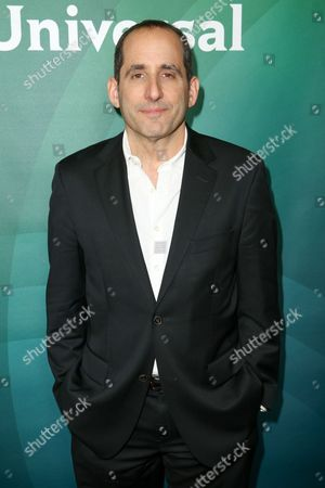Peter Jacobson arrives at the 2016 NBCUniversal Winter TCA at the Langham Huntington Hotel & Spa, in Pasadena, Calif
