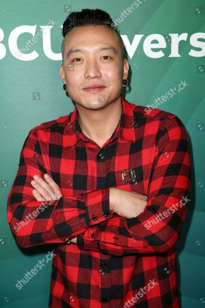 Stock Photo of Chris Oh arrives at the 2016 NBCUniversal Winter TCA at the Langham Huntington Hotel & Spa, in Pasadena, Calif