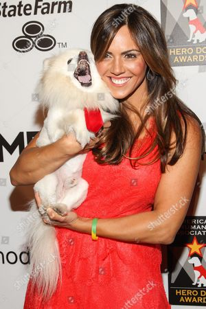 Actress Laura Nativo arrives at the 3rd Annual American Humane Association Hero Dog Awards at the Beverly Hilton Hotel on in Beverly Hills, Calif