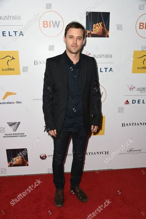 Stock Photo of Oliver Ackland seen at the 3rd Annual Australians In Film Awards at the Fairmont Miramar hotel on Sunday, October 26th, 2014, in Santa Monica, California