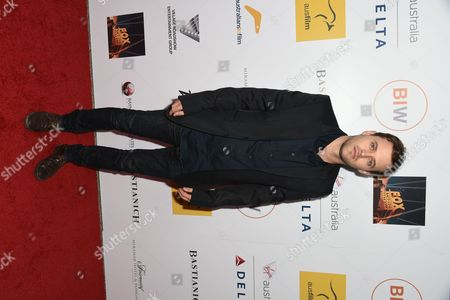 Stock Image of Oliver Ackland seen at the 3rd Annual Australians In Film Awards at the Fairmont Miramar hotel on Sunday, October 26th, 2014, in Santa Monica, California