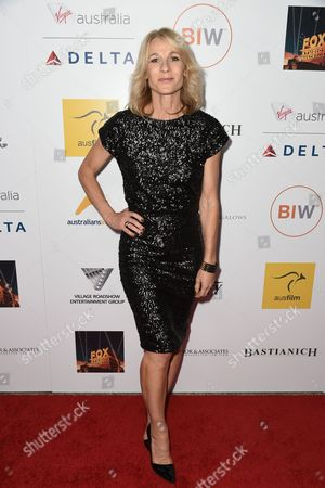 Angie Milliken seen at the 3rd Annual Australians In Film Awards at the Fairmont Miramar hotel on Sunday, October 26th, 2014, in Santa Monica, California