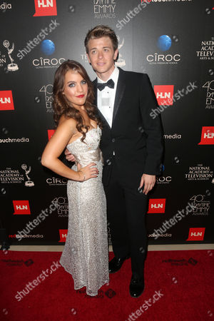 Kristen Alderson and Chad Duell seen at The 40th Annual Daytime Emmy Awards Redtouch Red Carpet, on Sunday, June, 16, 2013 in Beverly Hills