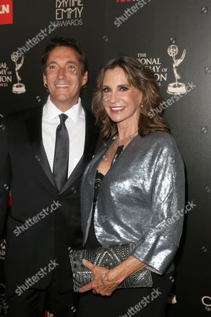 Michael Corbett and Jess Walton seen at The 40th Annual Daytime Emmy Awards Redtouch Red Carpet, on Sunday, June, 16, 2013 in Beverly Hills