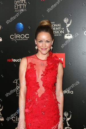 Julie Marie Berman seen at The 40th Annual Daytime Emmy Awards Redtouch Red Carpet, on Sunday, June, 16, 2013 in Beverly Hills