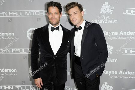 Nate Berkus and Jeremiah Brent attend the 5th Annual Baby2Baby Gala Honoring Jennifer Garner held at 3Labs, in Culver City, Calif