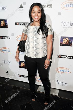 Mechelle Epps arrives at the 6th Annual Get Lucky For Lupus Poker Tournament, in Los Angeles